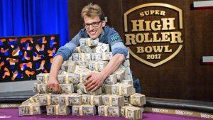 Christoph Vogelsang beim Super High Roller