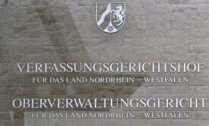 Tafel des OVG Münster