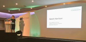 Sarah Harrison von der UK Gambling Commission