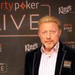 Boris Becker trotz Pleitegerüchten bei Pokerturnier im King's Rozvadov
