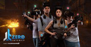 Szene aus VR Spielewelt von Zero Latency