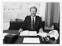 Reinhard Nack 1971 in seiner Firma