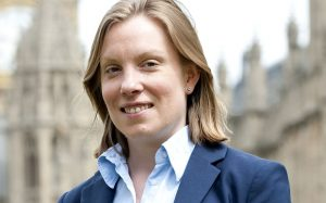 Ministerin Tracey Crouch für Digitales, Kultur, Medien und Sport