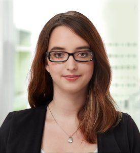 Anaïs Grandjean von den jungen Grünliberalen