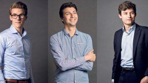 Andri Silberschmidt, Fabian Molina und Benjamin Fischer