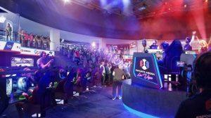 Innenraum der geplanten eSports Arena Las Vegas