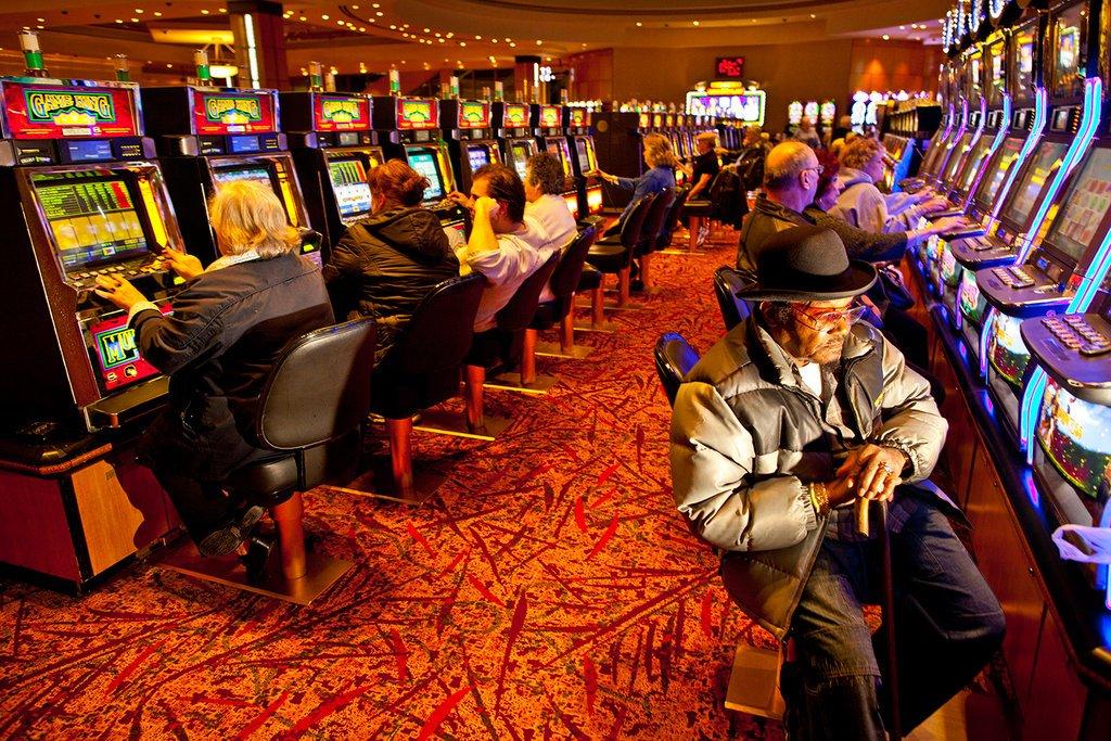 Slots im Foxwoods Casino