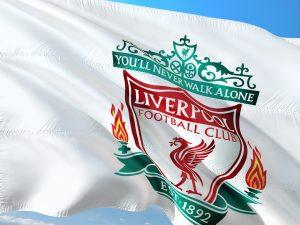 Flagge des FC Liverpool