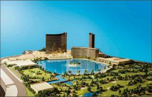 Modell des geplanten Paradise Park von Wynn
