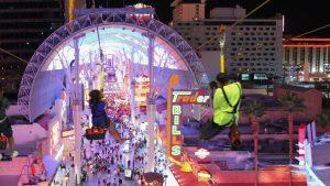 Die SlotZilla Zip-Line in Downtown Las Vegas
