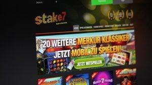 Webseite von Stake 7