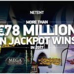 NetEnt-Jackpots zahlten letztes Jahr 78,3 Mio. Euro aus