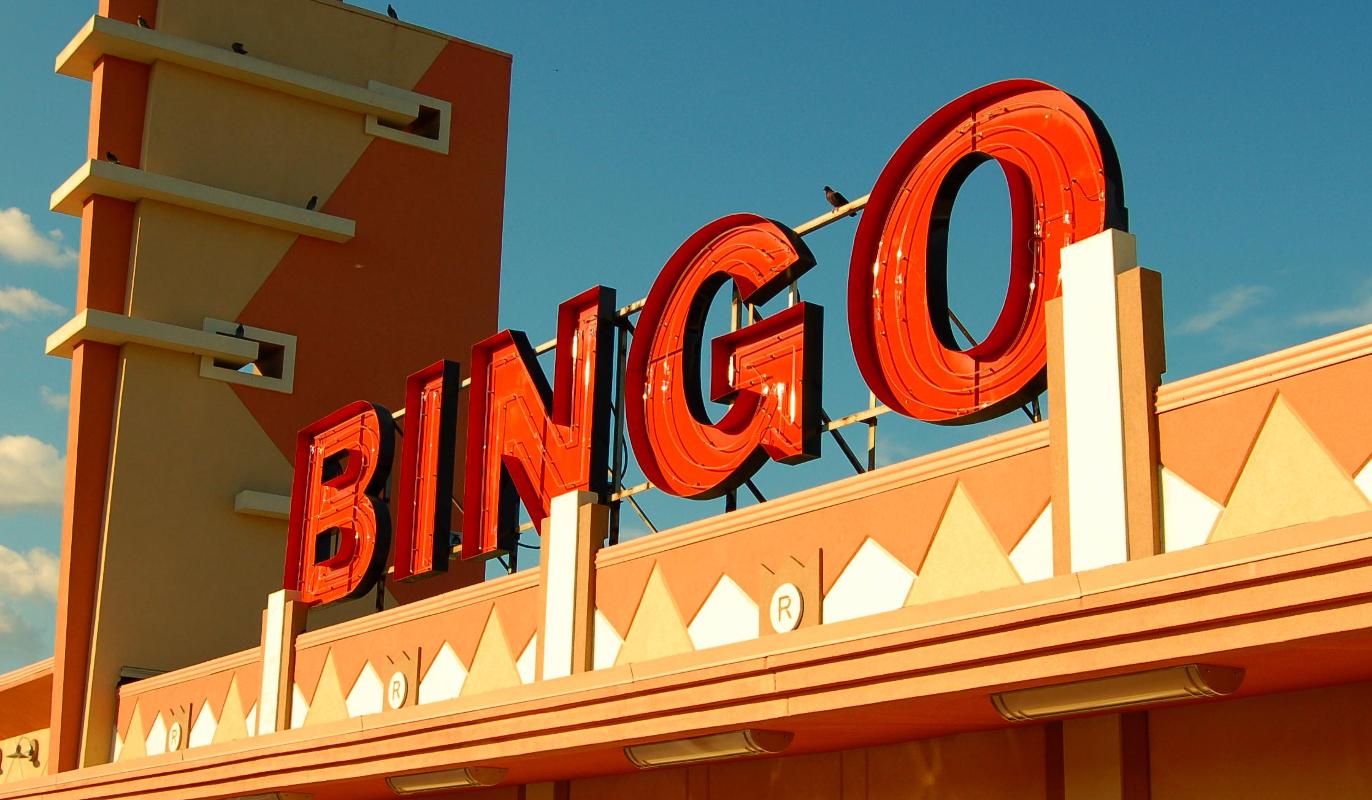 Bingo-Schild
