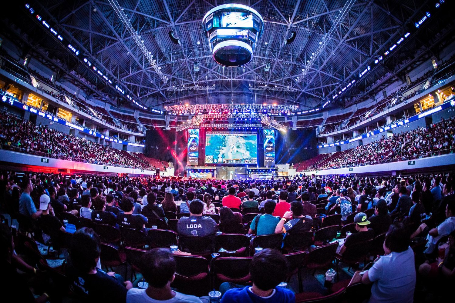 Zuschauer ESL One Genting-Turnier