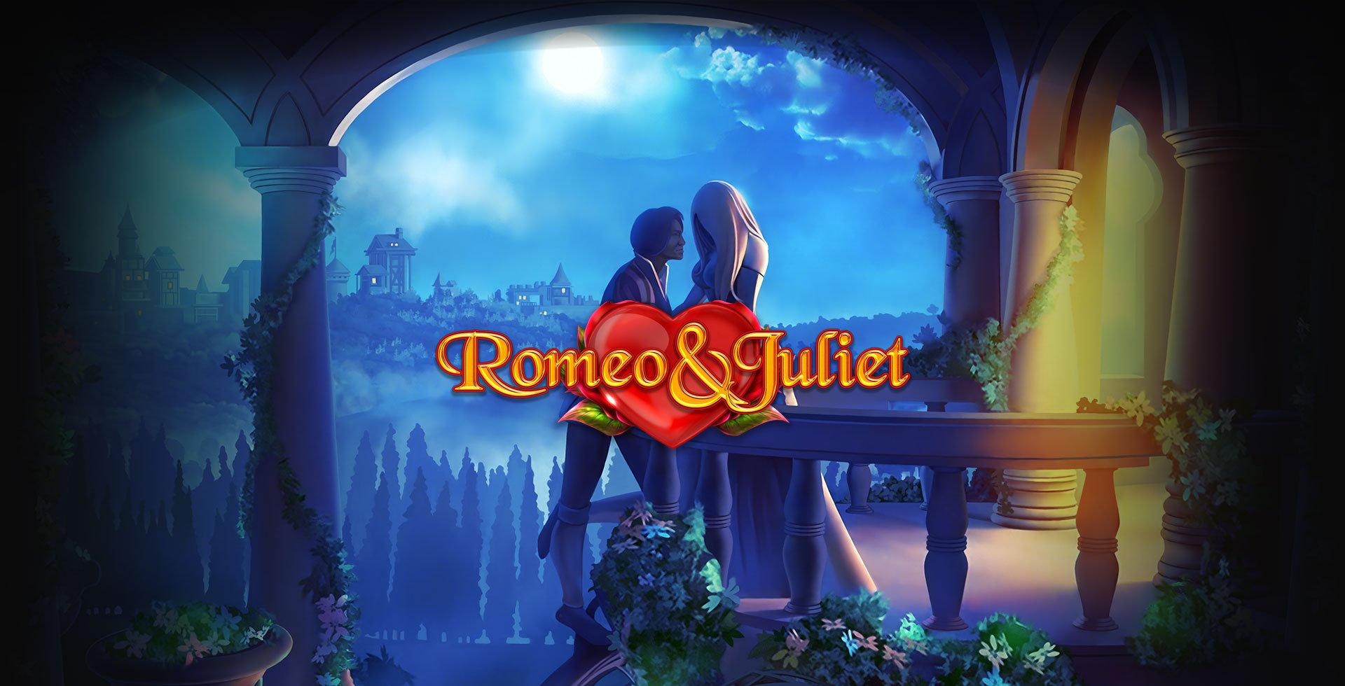Screenshot neuer Romeo & Juliet Slot von Blueprint.