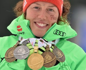 Biathletin Laura Dahlmeier