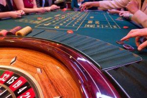 Roulettespiel im Casino