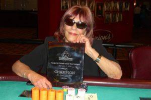 Pokerspielerin Barabara Enright