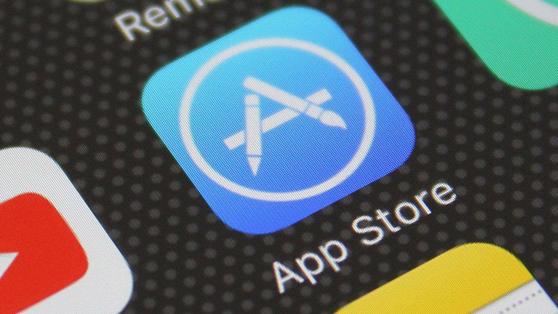 App Store von Apple auf dem iPhone