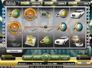 Mega Fortune Slot von NetEnt