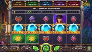 Ozwin's Jackpots Slot von Yggdrasil