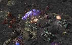 Szene aus dem Computerspiel StarCraft