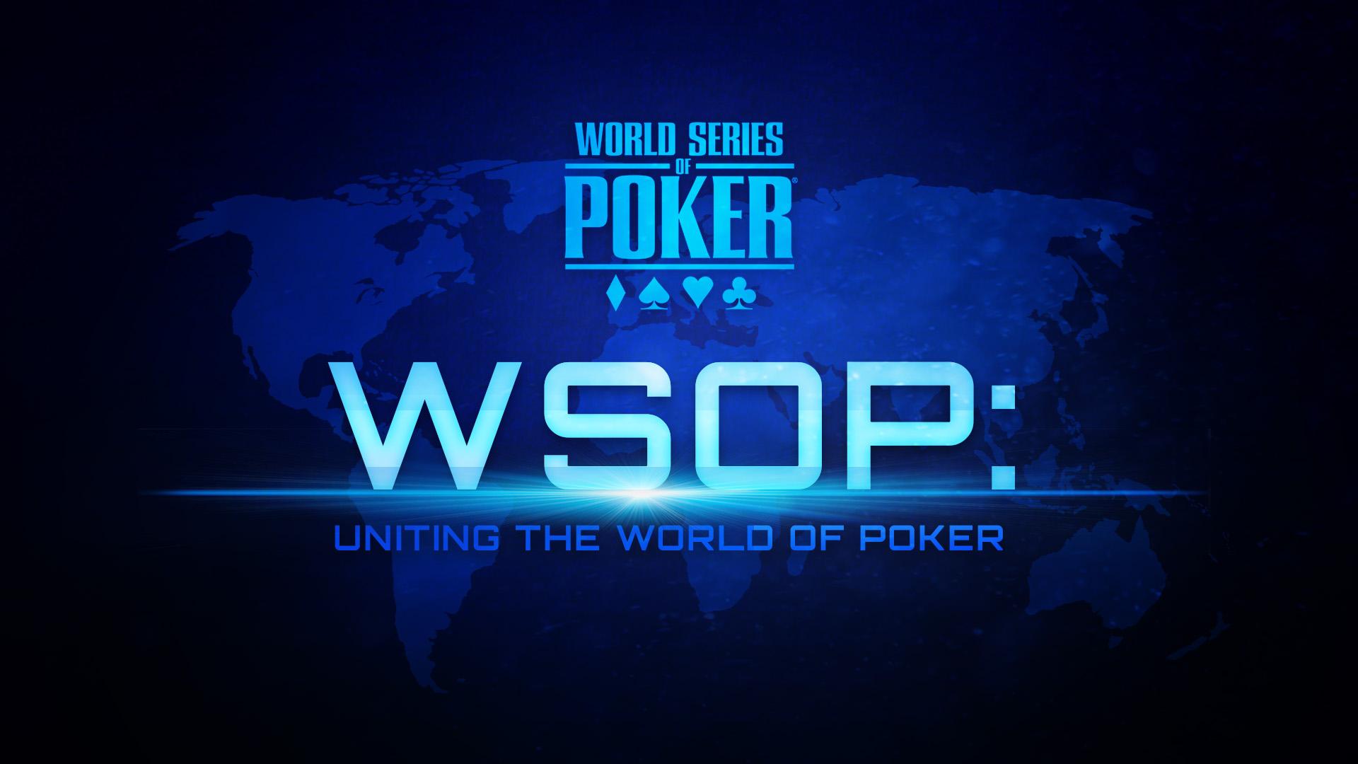 Werbeplakat für die WSOP