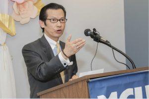 Municipal Geschäftsführer Kam Wong