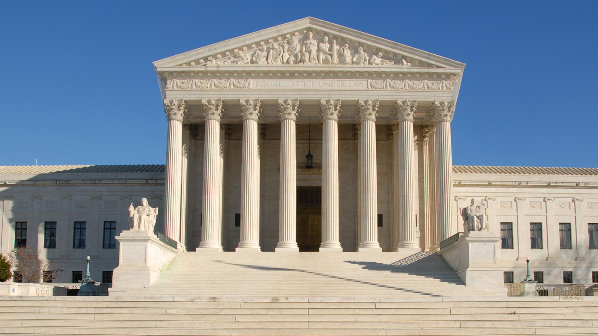 Der US Supreme Court von außen