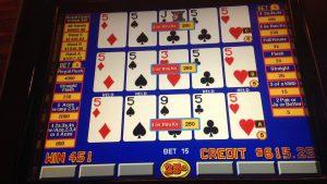 Video Poker Maschine