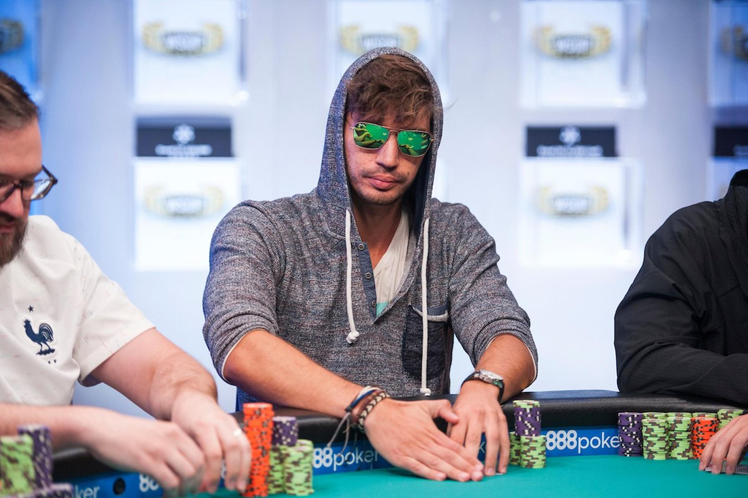 Pokerspieler Arne Kern im Turnier