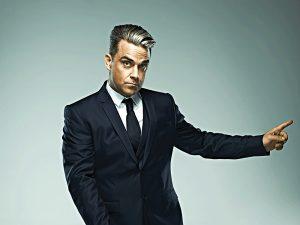 Sänger Robbie Williams