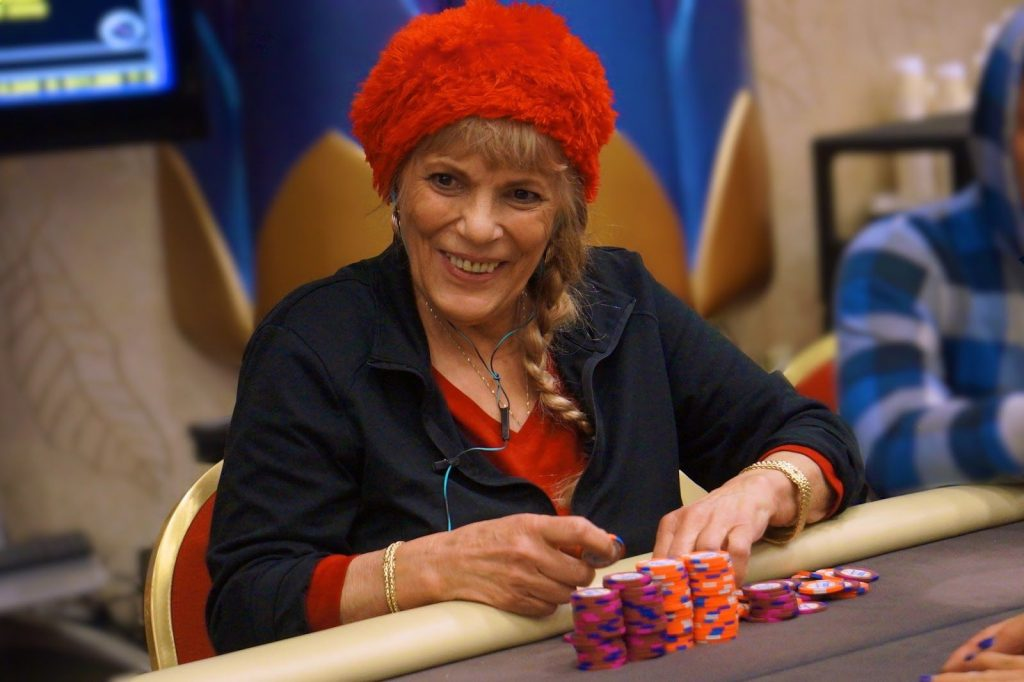 Pokerspielerin Barbara Enright