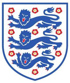 """Die """"Three Lions"""" im Wappen von England"""