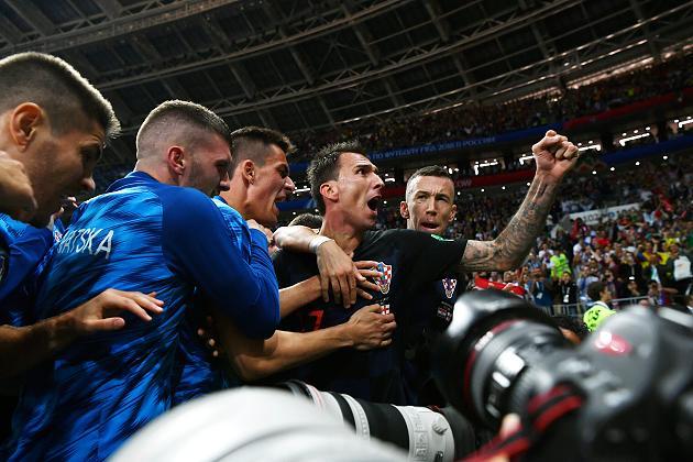 Kroatische Mannschaft