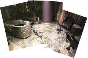 Waffenarsenal im Hotelzimmer von Stephen Paddock