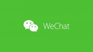 Logo von WeChat
