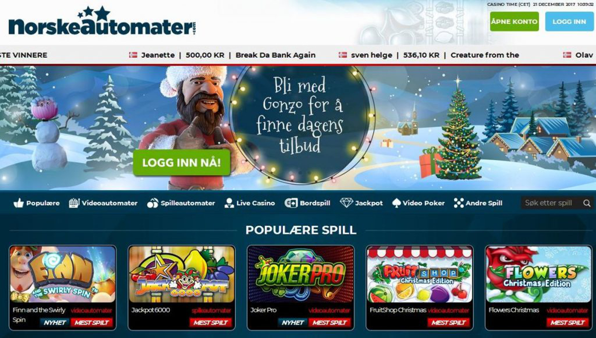 Online Casino Norwegen