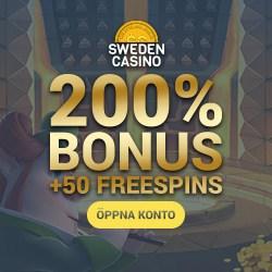 Casinobonus Schweden