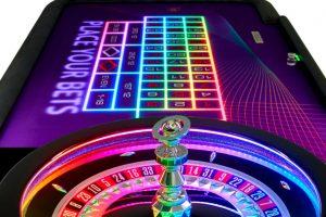 Roulette Tisch mit Blaze LTD Technik