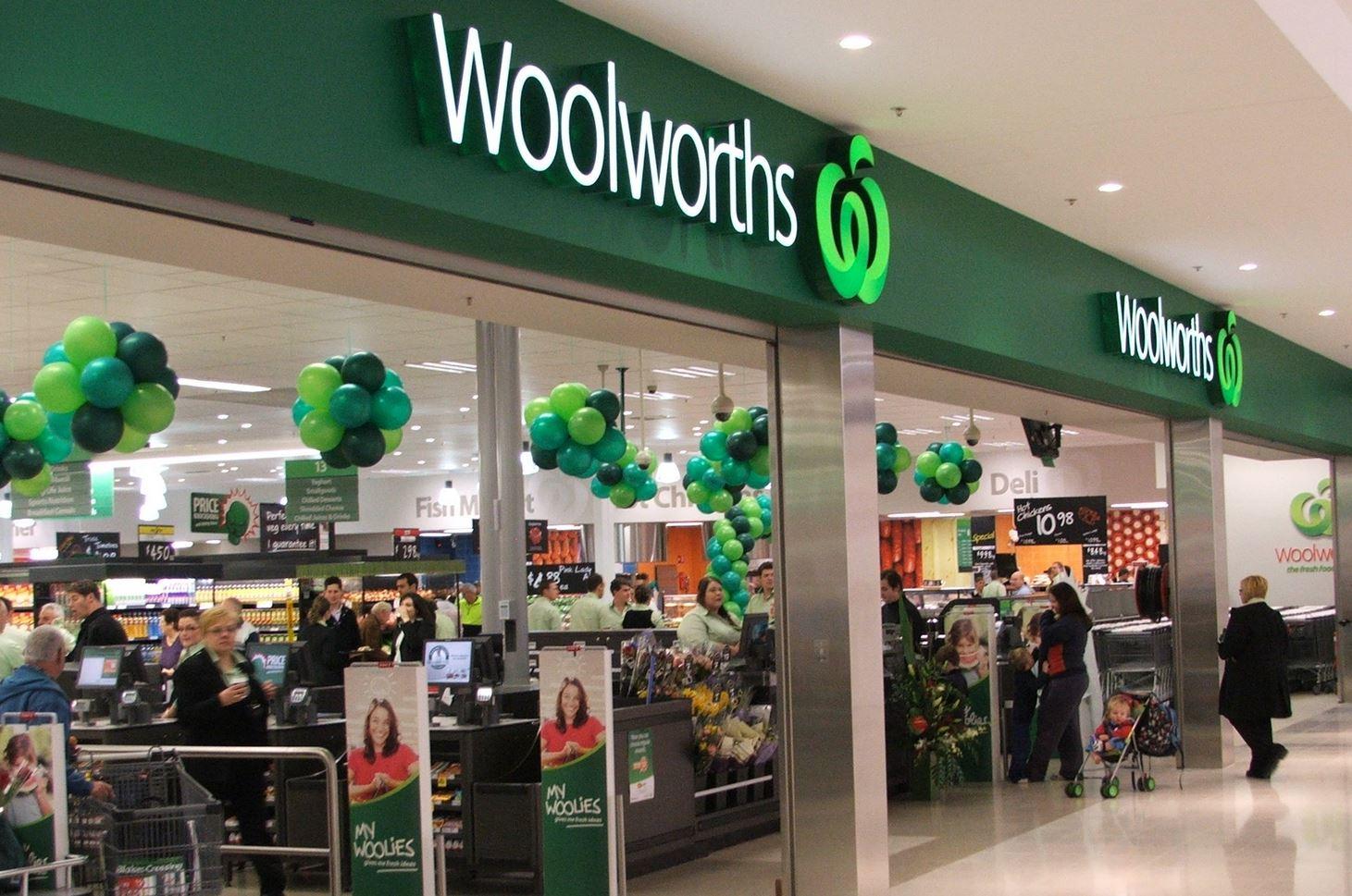 Supermarkt Woolworths Australien