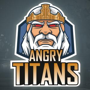 eSports Team Angry Titans Logo