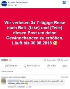 Vodafone Gewinnspiel Fake