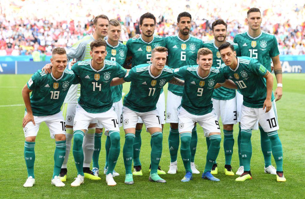 Die deutsche Nationalmannschaft bei der WM in Russland