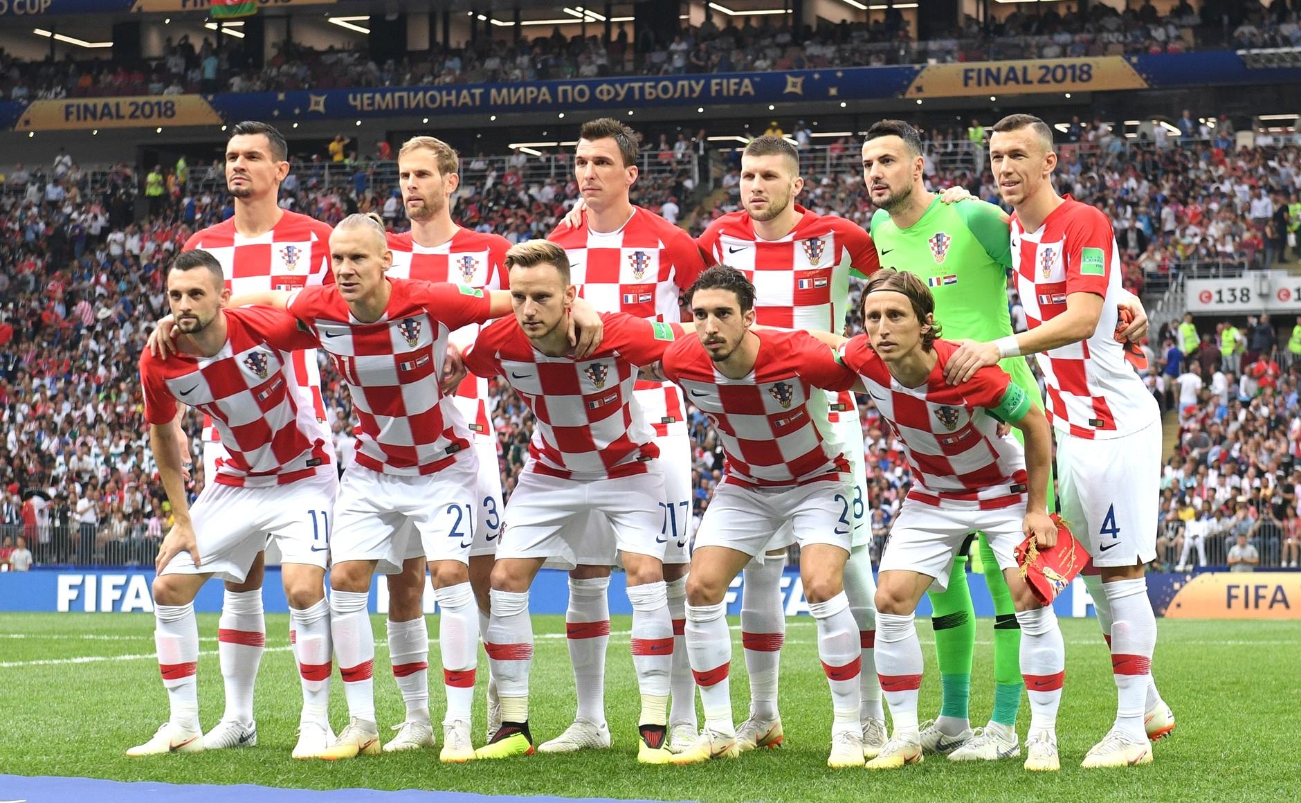 Modric mit Kroatien