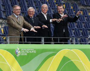 Schmidt, Zwanziger, Beckenbauer und Niersbach