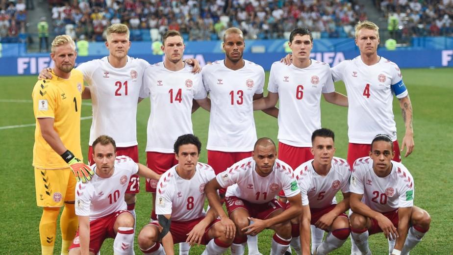 Die dänische Fußballnationalmannschaft im Streik