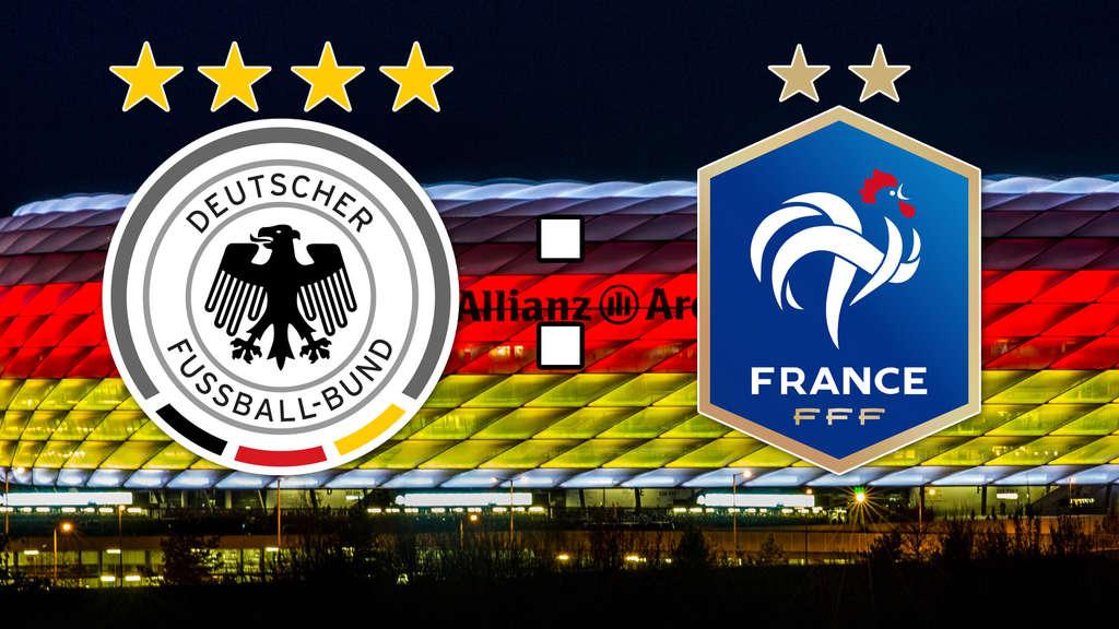 Deutschland Vs Frankreich Heute