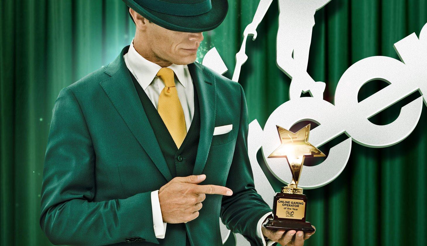 Mr Green Auszeichnung