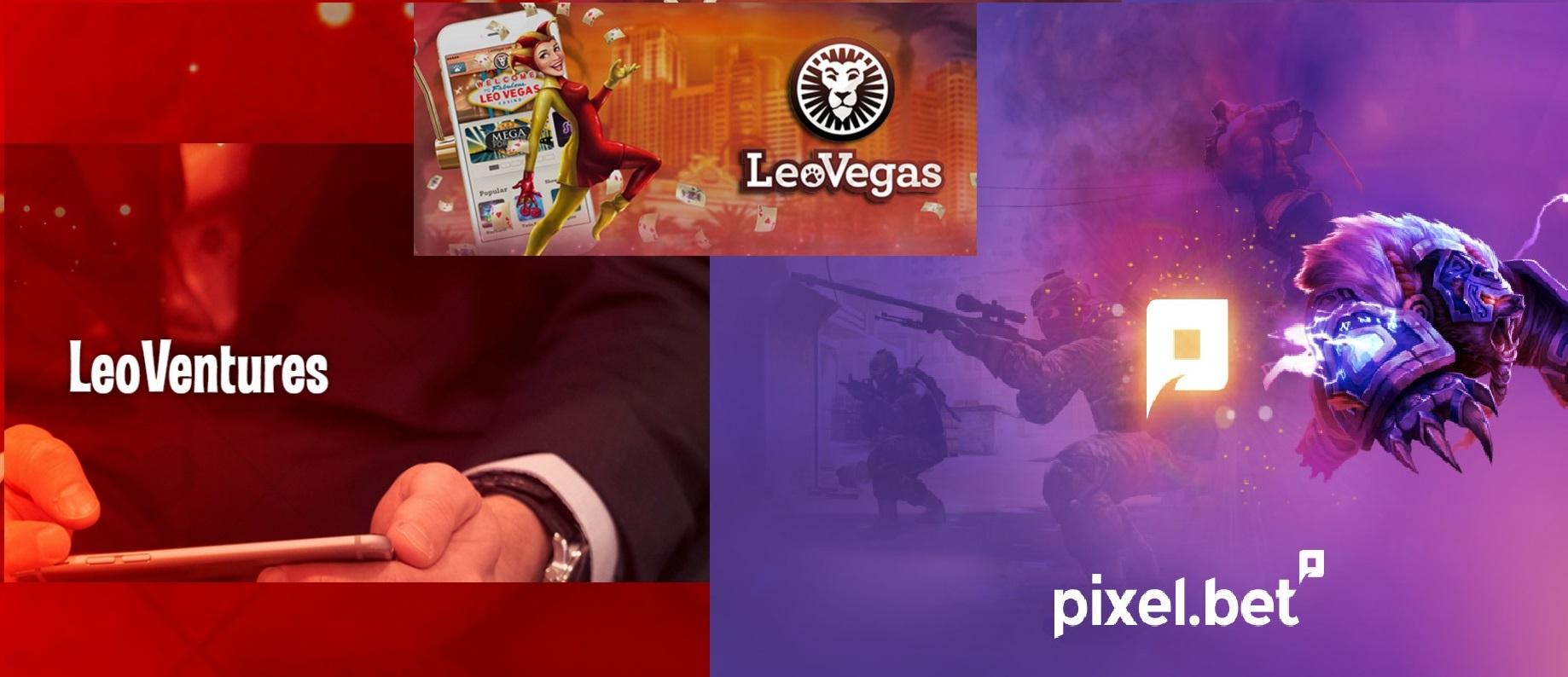 LeoVegas, LeoVentures, Pixel.bet